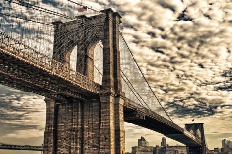 new york city :: brooklyn bridge :: hdr