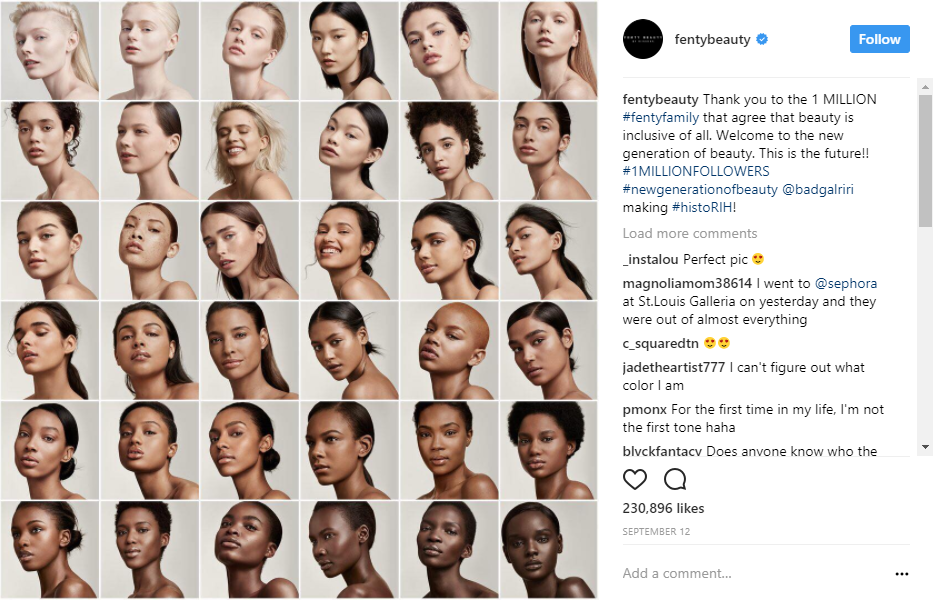 FENTY BEAUTY BY RIHANNA fentybeauty • Instagram photos and videos