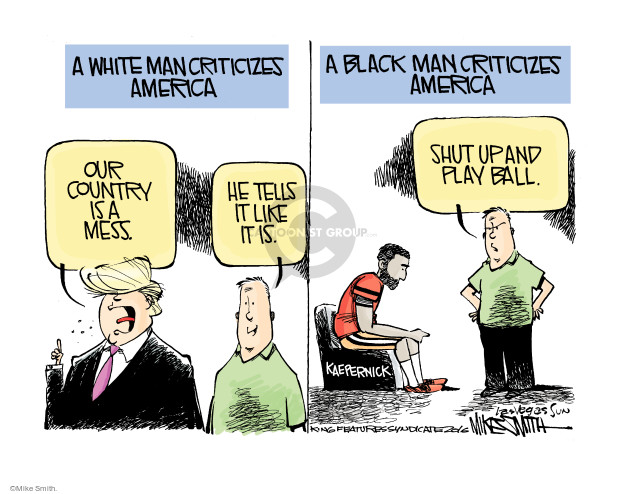 Mike Smith's Editorial Cartoon