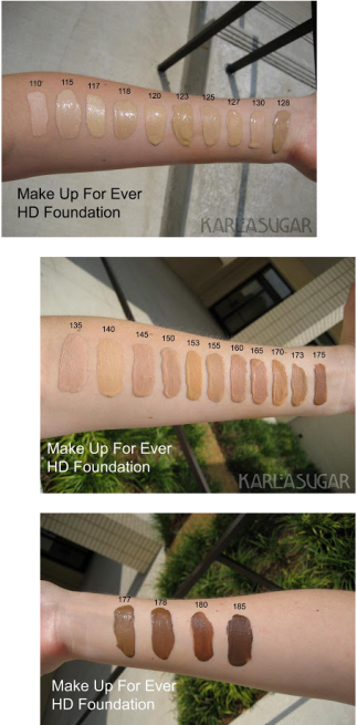 Make Up Forver's first 2008 HD Foundation Launch (Courtesy of KarlaSugar)